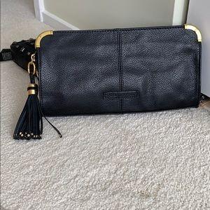 BCBGMaxAzria genuine leather clutch